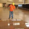 concrete floor polish