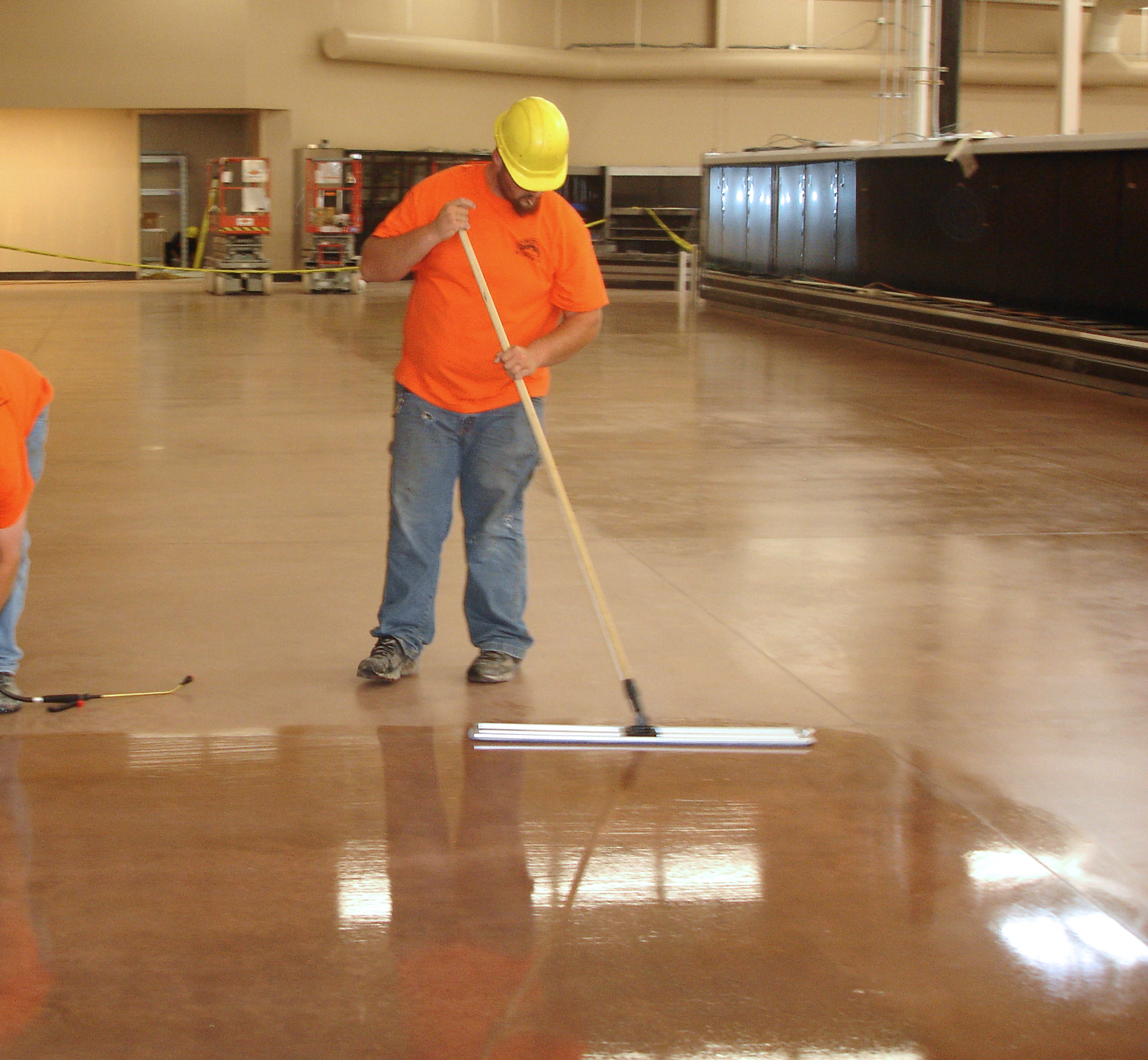 Floor Densifiers, Dyes, Polishes & Stain Protection