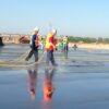 lithium silicate liquid floor hardener