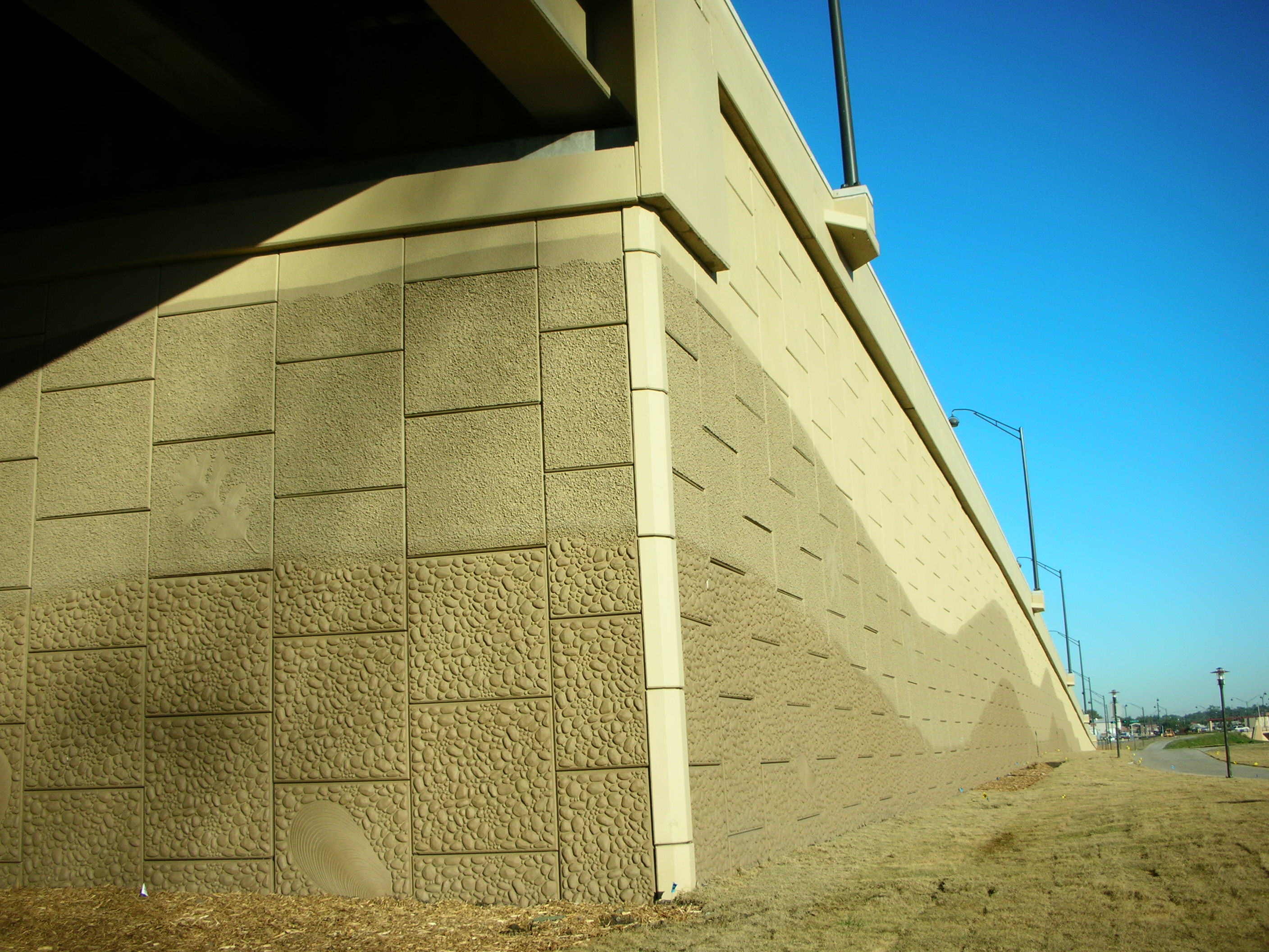 Water Repellent Concrete Sealer and Stain for vertical surfaces