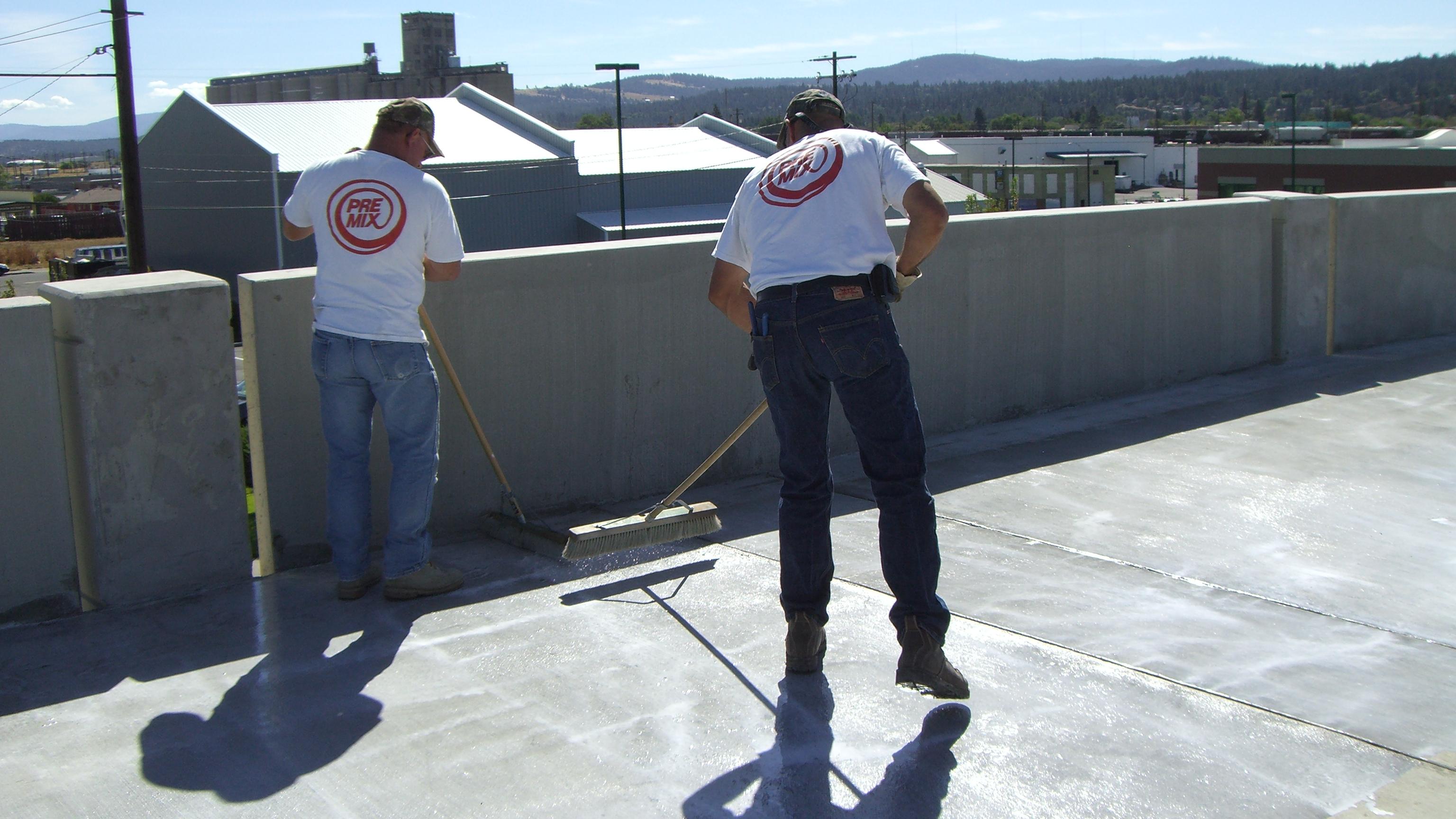 silane sealer for horizontal concrete