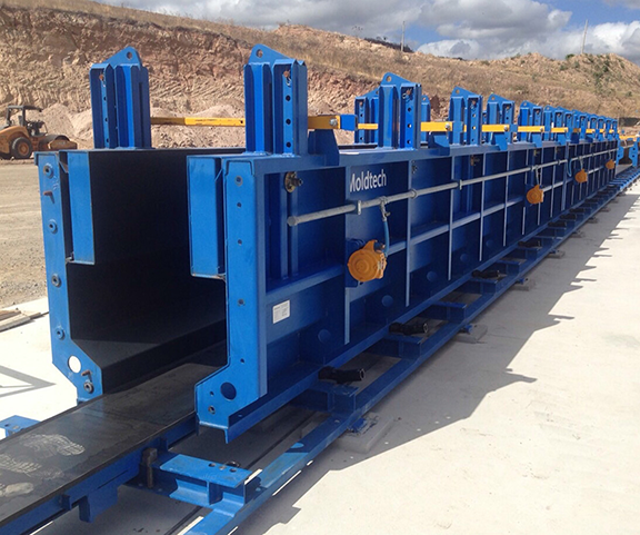 Moldtech Equipment and Forms for Precast Concrete Plants