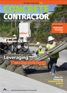 Cover April May Concrete Contractor