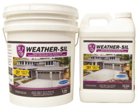 silane sealers, water repellant sealers